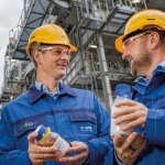 BASF erzeugt erstmals Produkte…