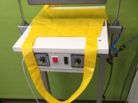 Pulse welder with pneumatic