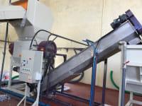Linia do mycia i regranulacji