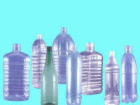 Blow molds for PET bottles