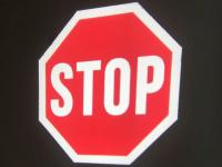 Projektor znaków ostrzegawczych