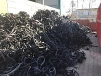 PVC black lumps