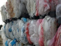 Folia LDPE, odpad