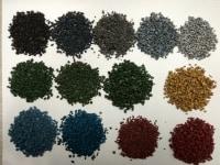 Granulat EPDM recykling/barwiony
