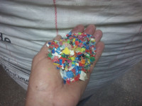 HDPE mix color - czysty