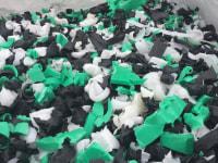 Odpad HDPE. Mix kolor.