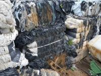Folie PE LD Czarną Odpadową