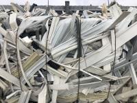 Odpad ABS w belach biało-czarny