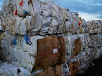HDPE gebündelter Abfall