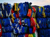 HDPE zbelowane Abfallmischungsfarbe