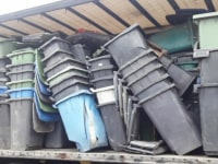 Odpad HDPE - kubły, Kliko