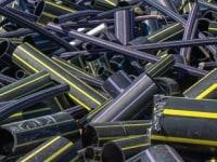 Odpad - rury HDPE