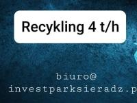 Linia recyklingu tworzyw