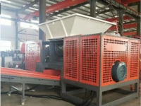 Double-shaft crusher