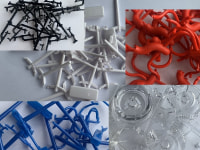 Technical plastics mix