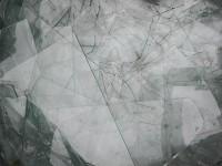Szkło bezbarwne, jednorodne