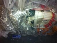 Odpad HDPE/PP skrzynki