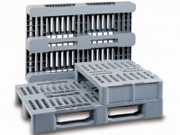 Hygienic pallets for