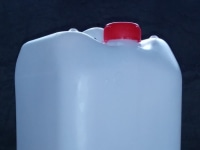 HDPE 10-liter canisters.