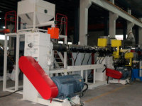 Extruders for regranulation