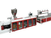 Extrusion line for WPC