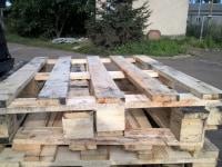 Palety drewniane przemysłowe