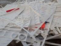 PMMA, PC, PVC, POM waste