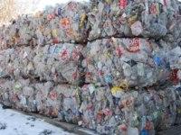 Odpad butelki PET