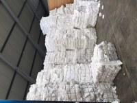 Odpad HDPE włóknina biała