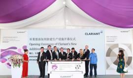 Clariant eröffnet neue Produktionsanlagen für Additive in China