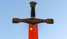 W kogo uderza chiński miecz?