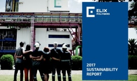 ELIX Polymers publishes its 2017 Sustainability Report