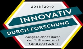 """Gütesiegel """"Innovativ durch Forschung"""" erneut für Sigma"""