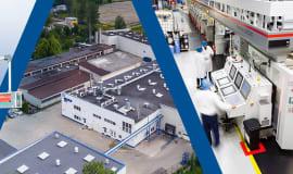 Nowa maszyna do produkcji wieczek i etykiet w Emsur Poland