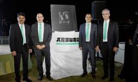 Arburg-Jubiläum: zehn Jahre präsent am Golf