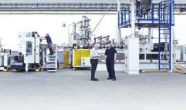 Reifenhäuser Blown Film schafft Vorteile für die wirtschaftliche Produktion von FFS-Folien
