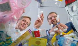 K 2019 - Neue Produkte aus Kunststoffabfall