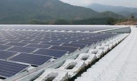 BASF-Lichtschutzmittel erhöhen die Lebensdauer schwimmender Solaranlagen