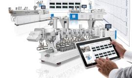 Flexibler Laborextruder compoundiert live auf der K 2019