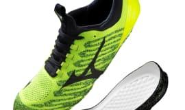 BASF and Mizuno upscale performance training shoes