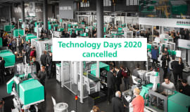 Arburg Technology Days 2020 cancelled