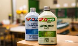 MOL rozpoczął produkcję środka dezynfekującego