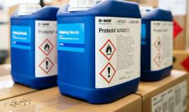 BASF podaruje Niemcom 100 mln maseczek