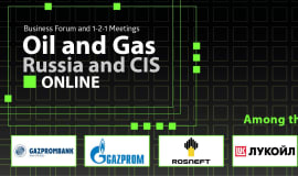 "Online Business Forum and 1-2-1 Meetings ""Oil and Gas Russia and CIS Online"""