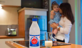 New Sidel aseptic complete PET line and bottle design for UHT milk