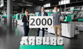 Arburg welcomes 2,000th apprentice
