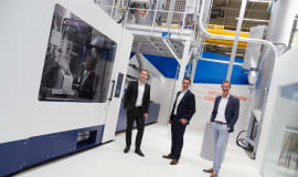 NETSTAL PET-LINE - światowa premiera nowej linii do produkcji preform