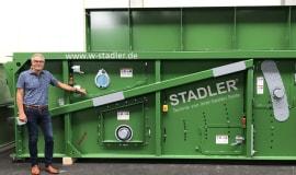 STADLER celebrates the production of the 1000th ballistic separator