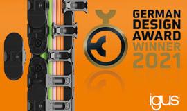 E-prowadnik E4Q firmy igus zdobywa German Design Award