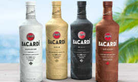 Bacardi first in fight against plastic pollution with 100 biodegradable spirits bottle